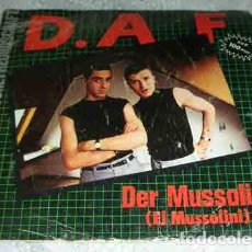Vinyl-Schallplatten - D.A.F. – Der Mussolini - SINGLE 1982 - 104650691