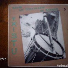 Discos de vinilo: BANDA DE TXISTULARIS DE BERMEO - LARRIÑAGA ANAIAK (5) . Lote 104654907