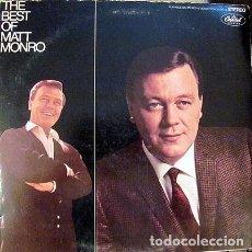 Discos de vinilo: THE BEST OF MATT MONRO -ED. ESPAÑA CAPITOL RECORDS 1969. Lote 104669147