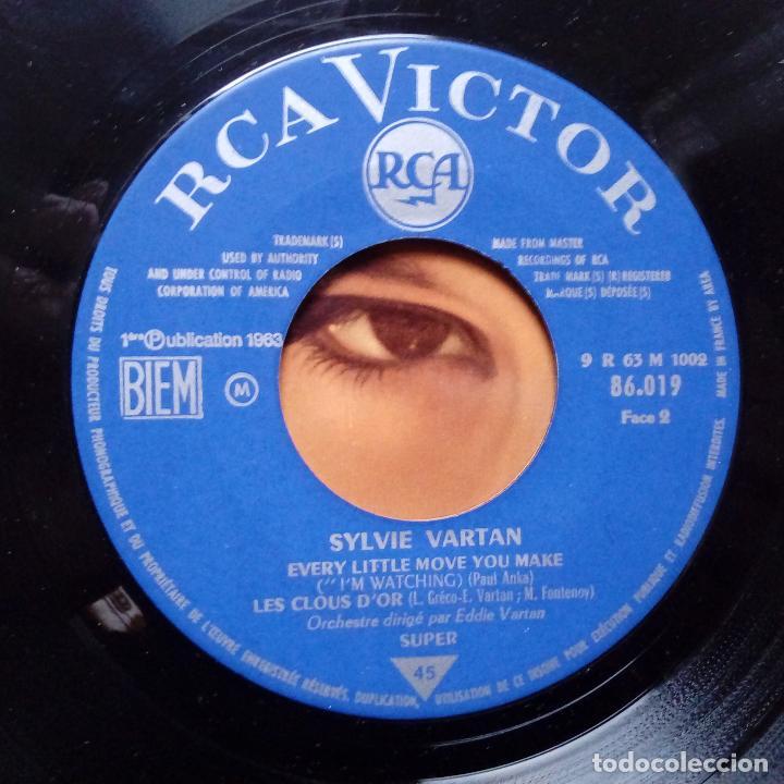 Discos de vinilo: SYLVIE VARTAN- I´M WATCHING- NE T´EN VAS PAS + 2- FRENCH EP 1963- VINILO EXC. ESTADO. - Foto 3 - 104682515