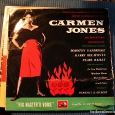 Discos de vinilo: CARMEN JONES - ORIGINAL U.S.A. - HIS MASTER VOICE. Lote 104686059