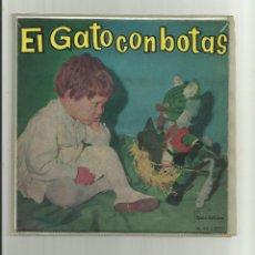 Discos de vinilo: CUENTO EL GATO CON BOTAS - SINGLE IBEROFON 1960 -. Lote 104686455