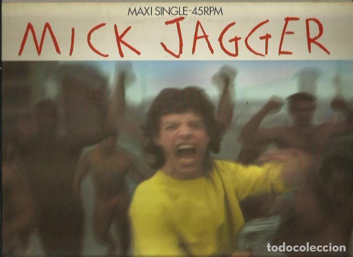 MICK JAGGER. MAXISINGLE. SELLO CBS . EDITADO EN INGLATERRA (Música - Discos de Vinilo - Maxi Singles - Pop - Rock Extranjero de los 70)