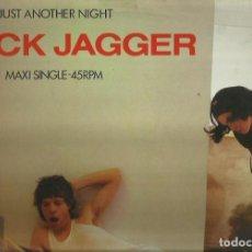 Discos de vinilo: MICK JAGGER. MAXISINGLE. SELLO CBS . EDITADO EN INGLATERRA. Lote 104688679
