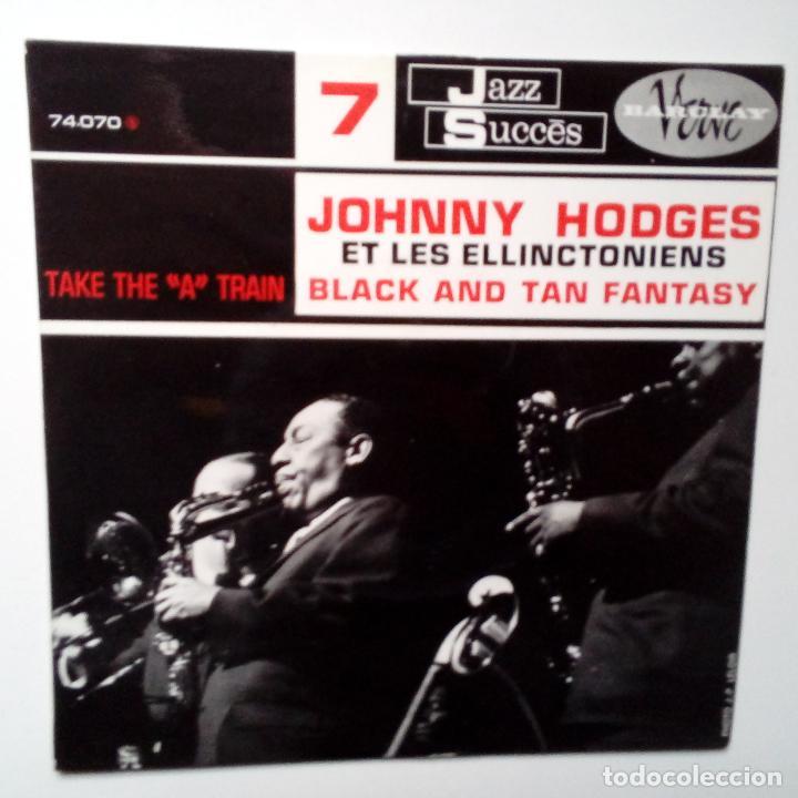 JOHNNY HODGES ET LES ELLINCTONIENS- BLACK AND TAN FANTASY- FRENCH EP 1961 + LENGÜETA- COMO NUEVO. (Música - Discos de Vinilo - EPs - Jazz, Jazz-Rock, Blues y R&B)