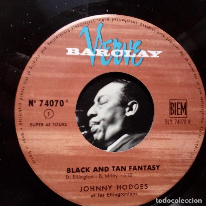 Discos de vinilo: JOHNNY HODGES ET LES ELLINCTONIENS- BLACK AND TAN FANTASY- FRENCH EP 1961 + LENGÜETA- COMO NUEVO. - Foto 3 - 104701995