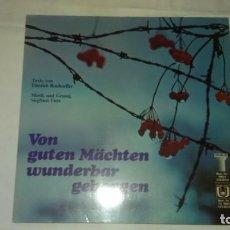 Discos de vinilo: SIEGFRIED FIETZ - DIETRICH BONHOEFFER ?– VON GUTEN MÄCHTEN WUNDERBAR GEBORGEN,1977. Lote 104705471