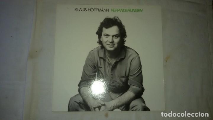 KLAUS HOFFMANN ?– VERÄNDERUNGEN,1982 (Música - Discos - LP Vinilo - Pop - Rock - New Wave Extranjero de los 80)