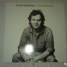 Discos de vinilo: KLAUS HOFFMANN ?– VERÄNDERUNGEN,1982. Lote 104706487