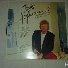 Discos de vinilo: PETER HOFMANN ?– PETER HOFMANN 2 - IVORY MAN / SONGS & BALLADS,1984. Lote 104707291