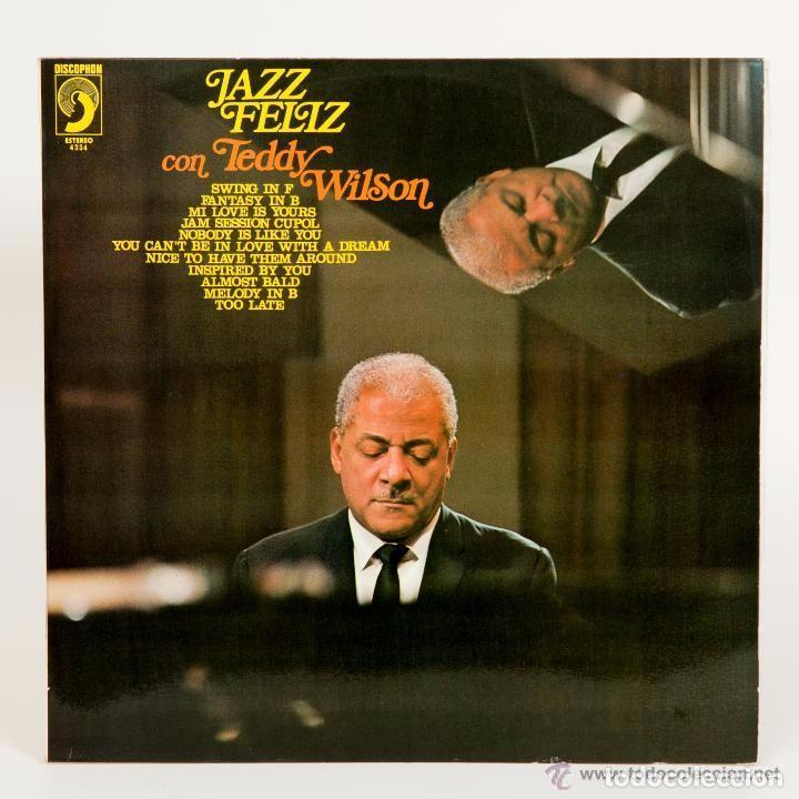 TEDDY WILSON: JAZZ FELIZ DISCOPHON 2134 CON THE OVE LIND SWING GROUP (Música - Discos - LP Vinilo - Jazz, Jazz-Rock, Blues y R&B)