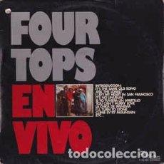 Discos de vinilo: FOUR TOPS : EN VIVO ED. ESPAÑA TAMLA MOTOWN 1975. Lote 104718839