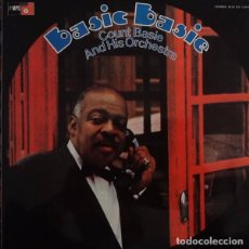 Discos de vinilo: COUNT BASIE: BASIC BASIE AND HIS ORCHESTRA ED. ESPAÑA BASF 1974 PORTADA ABIERTA PROMOCIONAL. Lote 104721483