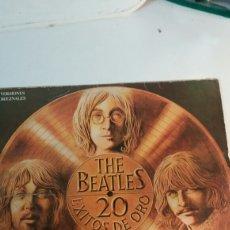 Discos de vinilo: VINILO LP THE BEATLES, 20 EXITOS DE ORO. Lote 104725831
