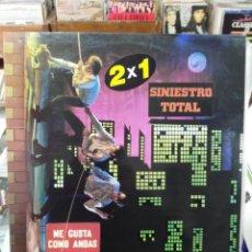 Discos de vinilo: SINIESTRO TOTAL - ME GUSTA COMO ANDAS - LP. DEL SELLO DRO DE 1988. Lote 104727539