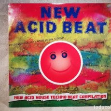Discos de vinilo: NEW ACID HOUSE TECHNO BEAT COMPILATION 1989. Lote 104734987