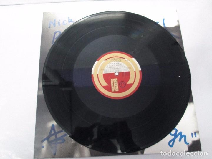 Discos de vinilo: NICK ROBERTSON AND SLICE. E.P. VINILO. CIRCA RECORDS 1990. VER FOTOGRAFIAS ADJUNTAS - Foto 5 - 104744655