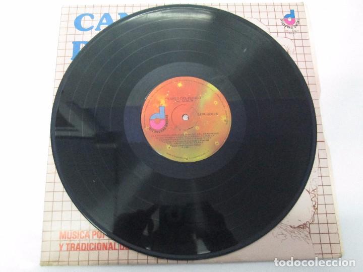 Discos de vinilo: CANTO DEL PUEBLO. MUSICA POPULAR Y TRADICIONAL DE VENEZUELA. LP VINILO. 1981. DISQUERAS UNIDAS - Foto 2 - 104744867