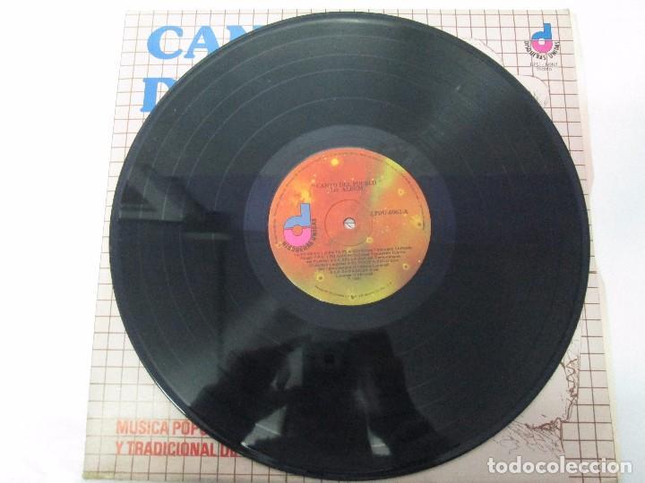 Discos de vinilo: CANTO DEL PUEBLO. MUSICA POPULAR Y TRADICIONAL DE VENEZUELA. LP VINILO. 1981. DISQUERAS UNIDAS - Foto 4 - 104744867
