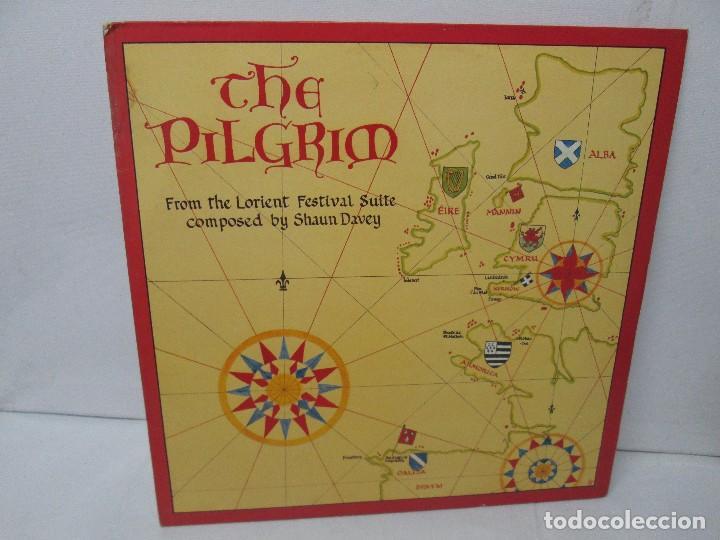 THE PILGRIM. FROM THE LORIENT FESTIVAL SUITE COMPOSED BY SHAUN DAVEY. LP VINILO 1984. (Música - Discos - Singles Vinilo - Otros Festivales de la Canción)