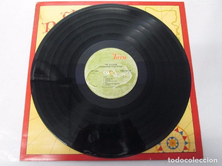 Discos de vinilo: THE PILGRIM. FROM THE LORIENT FESTIVAL SUITE COMPOSED BY SHAUN DAVEY. LP VINILO 1984. - Foto 3 - 104744951