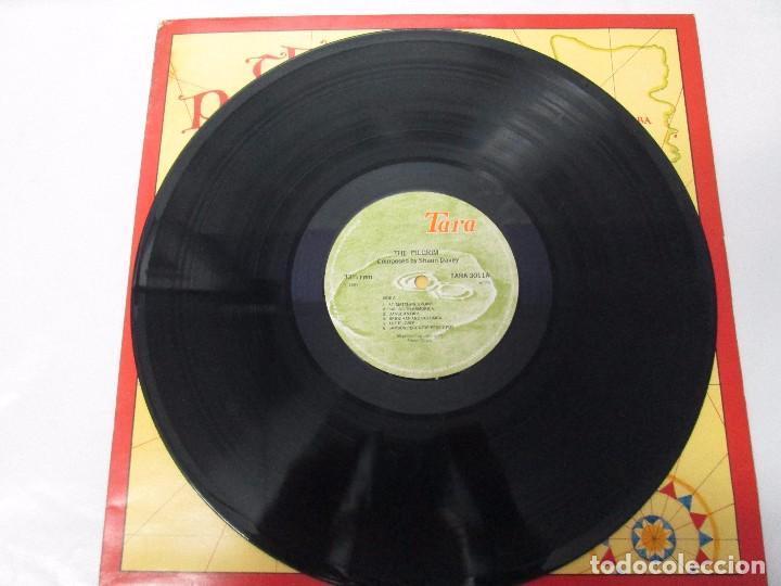 Discos de vinilo: THE PILGRIM. FROM THE LORIENT FESTIVAL SUITE COMPOSED BY SHAUN DAVEY. LP VINILO 1984. - Foto 5 - 104744951