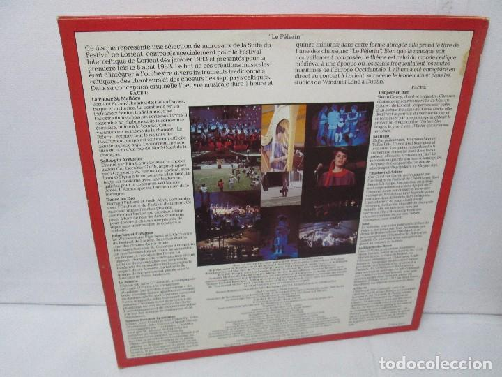 Discos de vinilo: THE PILGRIM. FROM THE LORIENT FESTIVAL SUITE COMPOSED BY SHAUN DAVEY. LP VINILO 1984. - Foto 8 - 104744951