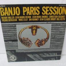 Discos de vinilo: BANJO PARIS SESSION. 2 DISCOS LP VINILO. GUINBARDA 1979. WENDY MILLER. JEAN MARIE REDON.... Lote 104745091