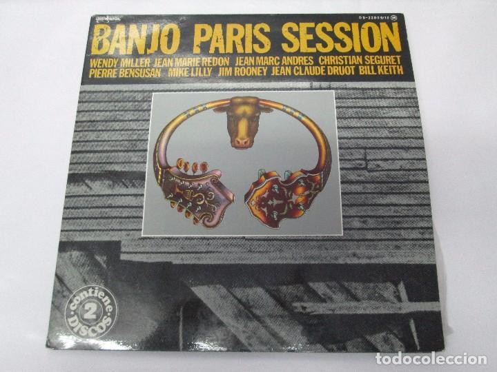 Discos de vinilo: BANJO PARIS SESSION. 2 DISCOS LP VINILO. GUINBARDA 1979. WENDY MILLER. JEAN MARIE REDON... - Foto 2 - 104745091