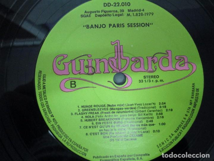 Discos de vinilo: BANJO PARIS SESSION. 2 DISCOS LP VINILO. GUINBARDA 1979. WENDY MILLER. JEAN MARIE REDON... - Foto 8 - 104745091