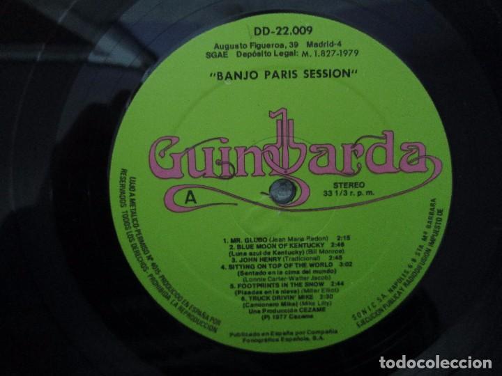 Discos de vinilo: BANJO PARIS SESSION. 2 DISCOS LP VINILO. GUINBARDA 1979. WENDY MILLER. JEAN MARIE REDON... - Foto 10 - 104745091