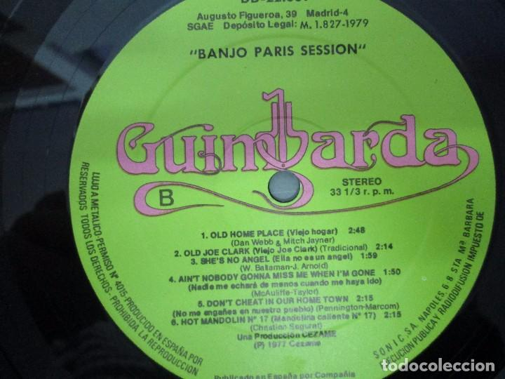 Discos de vinilo: BANJO PARIS SESSION. 2 DISCOS LP VINILO. GUINBARDA 1979. WENDY MILLER. JEAN MARIE REDON... - Foto 12 - 104745091