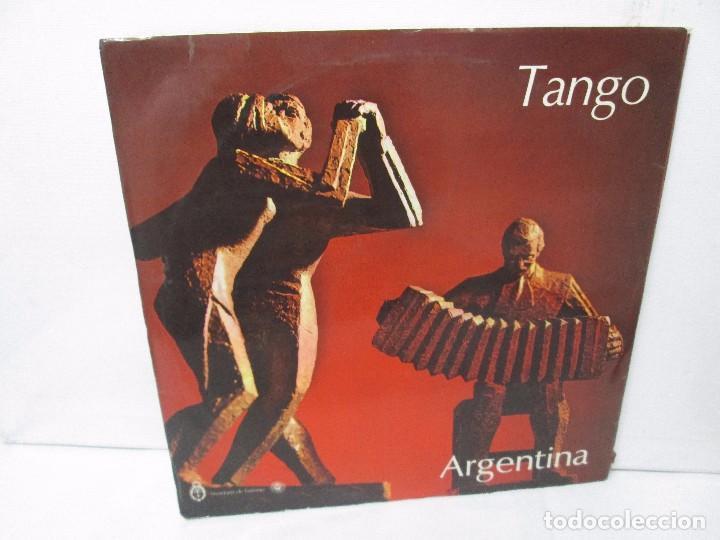 TANGO FOLKLORE ARGENTINA. LP VINILO. ODEON INDUSTRIA ARGENTINA. VER FOTOGRAFIAS ADJUNTAS (Música - Discos - Singles Vinilo - Country y Folk)