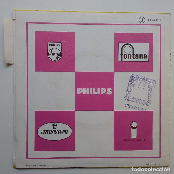 Discos de vinilo: DAVE & ANSELL COLLINS- DOUBLE BARREL- FRENCH SINGLE + LENGÜETA- EXC. ESTADO. - Foto 3 - 104769491