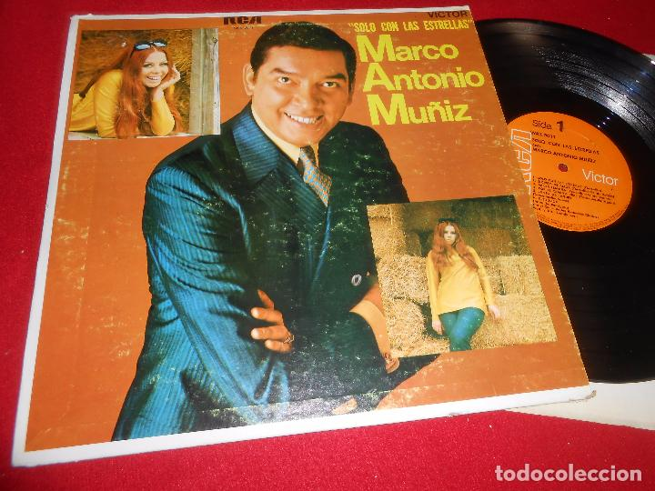 MARCO ANTONIO MUÑOZ SOLO CON LAS ESTRELLAS LP RCA PUERTO RICO (Música - Discos - LP Vinilo - Grupos y Solistas de latinoamérica)
