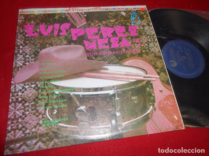 NORTEÑAS CON LUIS PEREZ MEZA LP 1975 CISNE CI-1150 MEXICO (Música - Discos - LP Vinilo - Grupos y Solistas de latinoamérica)