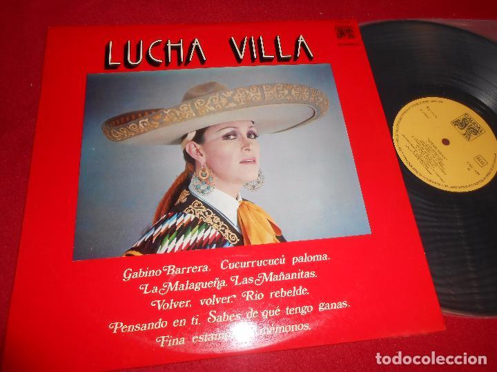 LUCHA VILLA LP 1976 CAUDAL SPAIN (Música - Discos - LP Vinilo - Grupos y Solistas de latinoamérica)