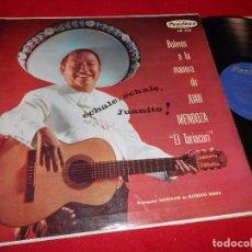Disques de vinyle: JUAN MENDOZA EL TARIACURI BOLEROS A LA MANERA DE JUAN MENDOZA LP PEERLESS MEXICO. Lote 104778187