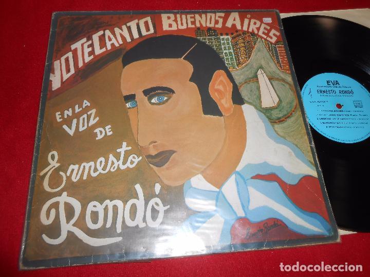ERNESTO RONDO YO TE CANTO BUENOS AIRES LP EVA EVP 601007 FRANCIA (Música - Discos - LP Vinilo - Grupos y Solistas de latinoamérica)