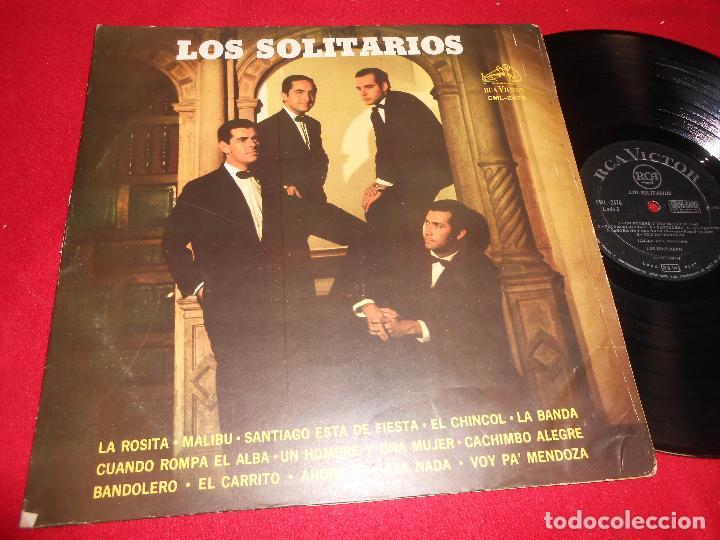 LOS SOLITARIOS LP 1967 RCA CHILE (Música - Discos - LP Vinilo - Grupos y Solistas de latinoamérica)