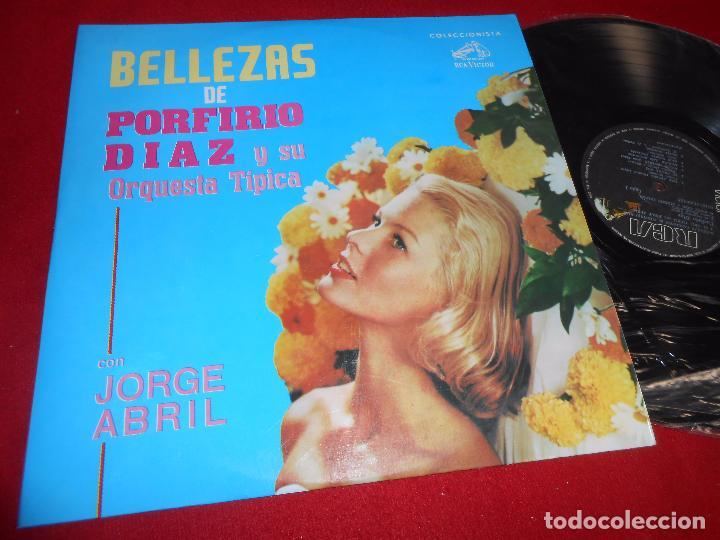 BELLEZAS DE PORFIRIO DIAZ Y SU ORQUESTA TIPICA CON JORGE ABRIL LP RCA COLOMBIA (Música - Discos - LP Vinilo - Grupos y Solistas de latinoamérica)