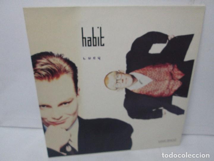 HABIT MAXI-SINGLE VINILO. VIRGIN RECORDS 1988. VER FOTOGRAFIAS ADJUNTAS (Música - Discos de Vinilo - Maxi Singles - Electrónica, Avantgarde y Experimental)