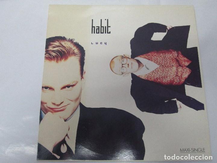 Discos de vinilo: HABIT MAXI-SINGLE VINILO. VIRGIN RECORDS 1988. VER FOTOGRAFIAS ADJUNTAS - Foto 2 - 104782563