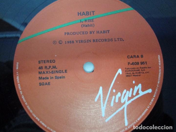 Discos de vinilo: HABIT MAXI-SINGLE VINILO. VIRGIN RECORDS 1988. VER FOTOGRAFIAS ADJUNTAS - Foto 6 - 104782563