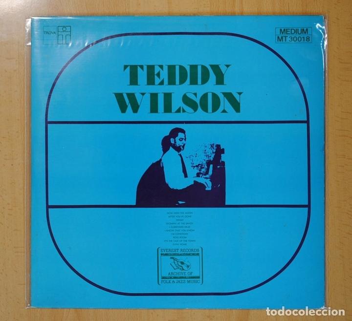 TEDDY WILSON - TEDDY WILSON - LP (Música - Discos - LP Vinilo - Jazz, Jazz-Rock, Blues y R&B)