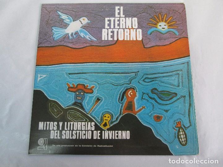 Discos de vinilo: EL ETERNO RETORNO. MITOS Y LITURGIAS DEL SOLTICIO DE INVIERNO. EP VINILO. VER FOTOGRAFIAS - Foto 2 - 104785259