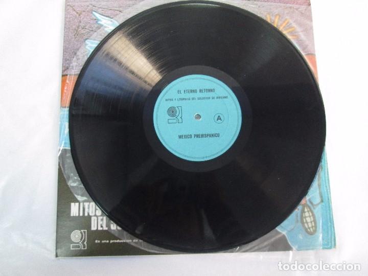 Discos de vinilo: EL ETERNO RETORNO. MITOS Y LITURGIAS DEL SOLTICIO DE INVIERNO. EP VINILO. VER FOTOGRAFIAS - Foto 3 - 104785259