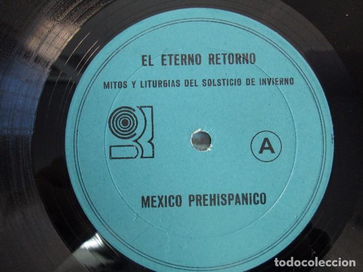 Discos de vinilo: EL ETERNO RETORNO. MITOS Y LITURGIAS DEL SOLTICIO DE INVIERNO. EP VINILO. VER FOTOGRAFIAS - Foto 4 - 104785259