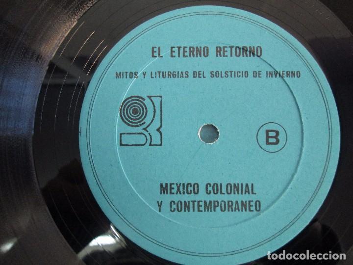 Discos de vinilo: EL ETERNO RETORNO. MITOS Y LITURGIAS DEL SOLTICIO DE INVIERNO. EP VINILO. VER FOTOGRAFIAS - Foto 6 - 104785259