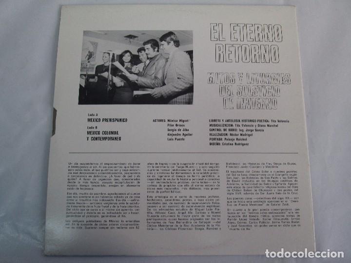 Discos de vinilo: EL ETERNO RETORNO. MITOS Y LITURGIAS DEL SOLTICIO DE INVIERNO. EP VINILO. VER FOTOGRAFIAS - Foto 7 - 104785259